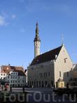 главная площадь в Старом городе и Ратуша