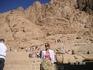 Поездка в монастырь св. Екатерины. Скалы напротив монастыря
