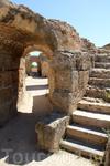 Руины терм Антонина на землях Карфагена.