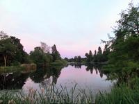 Озеро Серпентайн - самое большое озеро Гайд парка.