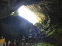 В пещере Зевса. остр.Крит
