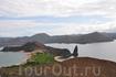 Вулканический пейзаж Галапагосских островов