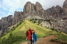 Перевал Groedner Joch 2121 m