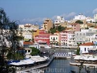 Агиос Николаос или город Святого Николая (Agios Nikolaos)