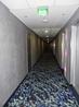 Это коридор в отеле. Вообще здесь присутствует космическая тематика, но лично мне узор на ковре напоминает каких-то анемонов.