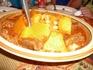 Мамалыга - картофель, нут, мясо, специи. Пища бедуинов