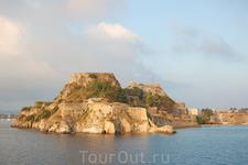 остров-крепость недалеко от Керкиры