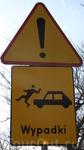 """Ну и самый интересный знак """"Осторожно! Выпадки!"""""""