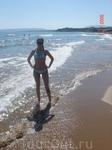 Пляж Агии Марины.