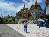 Территория королевского дворца в Бангкоке