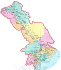 Карта дорог Астраханской области