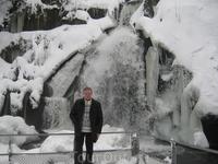 В Триберге крупнейший в Германии каскад водопадов.