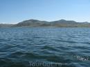 Голубой залив, Усть-Каменогорск вид с лодки