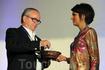 В рамках прощального ужина состоялась церемония награждения участников Греческого Форума.