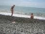 Кобулети. Пляж.
