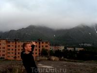 как раз виден туманище)))