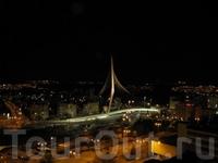 Иерусалим, Новый мост, вид вечером из отеля Radisson