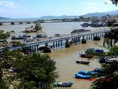 мост через реку в нан-чанге