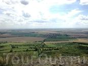 Вид на Прагу с горы Ржип
