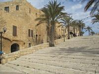 Яффа. Кого помнит эта каменная лестница? Эпохи, века, разные цивилизации...