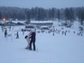 Вот так на лыжах