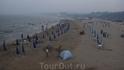 Пляж Бэдайхе вечером