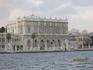 вид на дворец Долмабахче