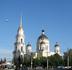 Спасо-Преображенский собор Рыбинска является кафедральным городским собором. Вид со стороны Большой Казанской улицы