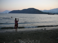дикий пляж Фазелис