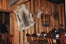 Интерьер ресторана викингов Харальд