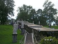 Восточная часть Нижнего парка. Шахматная горка
