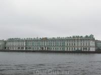 Зимний дворец. Вид с Васильевского острова