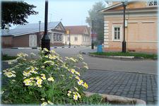 перекрёсток улиц Ленина и Рублёва