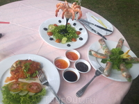 """обед в ресторане """"Нептун"""" при отеле"""