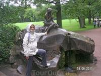 В Царском Селе. Екатерининский парк