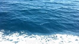 Какой цвет моря!!!