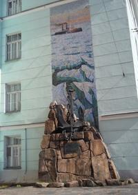 Памятный знак ледоколу «Ермак»