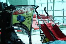 тележки и коляски - всё для удобства пассажиров