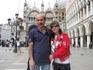Венеция. Площадь Сан Марко. Мы с мужем долго любовались такой красотой.