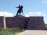 Балтийск. Памятник Елизавете