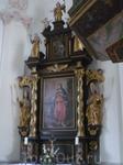 """До сих пор освящается фигура церковника """"св.Бартоломэ""""-как покровителя эпохи 17-го столетия."""