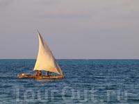 лодка доу (или дау)