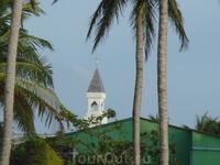 на экскурсии в мальдивскую рыбацкую деревню.... мечеть