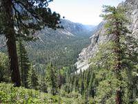 Каньон Пехотинца (Kern Canyon). Очень длинный, несколько десятков миль.
