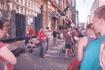 Уличные музыканты. Ребята очень здорово исполняли популярную классическую музыку.
