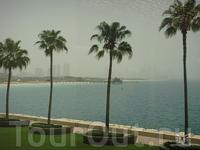 вид из окна в Burj Al Arab