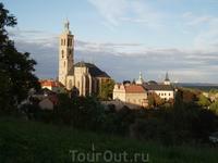 Панорама города Кутна Гора