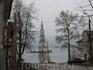 Знаменитая колокольня, поднимающаяся из волжской воды в Калязине