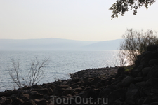 Берег Галилейского моря.
