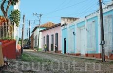 Такого многообразия красок не встретишь ни в одном городе на Кубе!